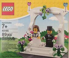 NIB Lego Wedding Favor Set Bride and Groom 40165 89 pieces 7+