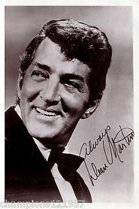 Dean Martin +Autogramm+ ++Hollywood-Legende++