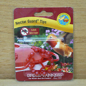 Droll-Yankees-Nectar-Guard-Tips-for-Hummingbird-Feeder-Stops-Bees-Flying-Insects