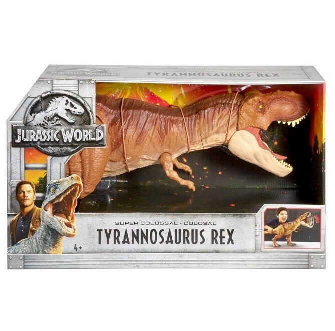 Jurassic  World 2 Ftuttien rossoom Super Colossal Tyrannosaurus Rex 2018 nuovo  punto vendita