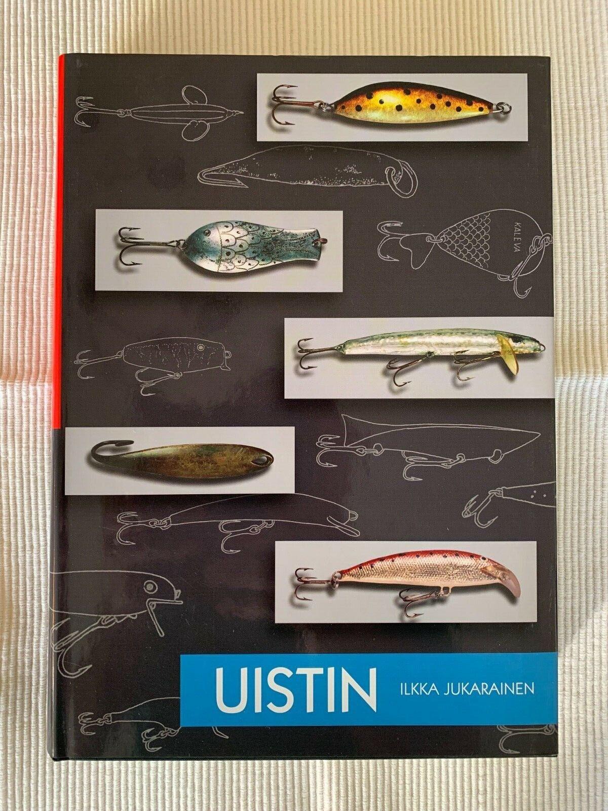 UISTIN - ILKKA JUKARAINEN Limitierte Erstausgabe 2005, Renfors, ABU, Rapala