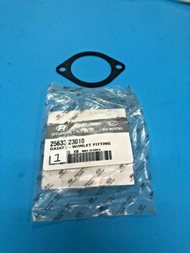W// INTLET FITG 25633-23010 GENUINE HYUNDAI /& KIA 2563323010  MOST MODELS GASKET