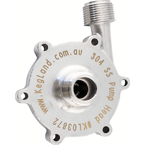 65 Watt Stainless Steel Pump Head for the MKII High Temp Magnetic Drive Pump