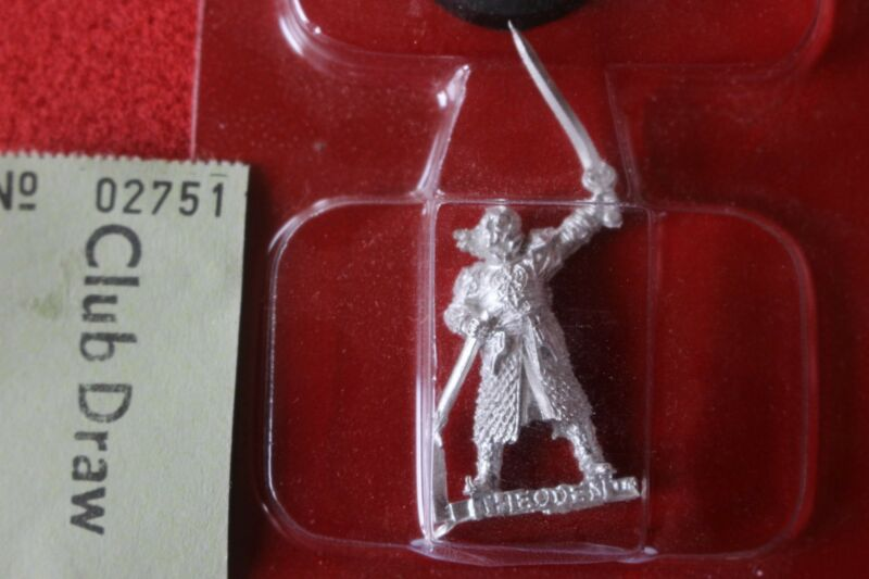 Games Workshop Lord of the Rings Eomer on Foot New Rohan Metal Mint LoTR GW