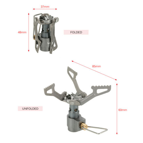 Gas Tank Adapter B3G7 Lixada Titanium Alloy Gas Stove