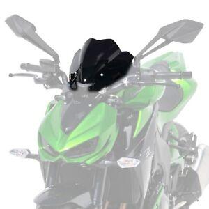 Bodywork & Frame Windscreens KAWASAKI Z1000 14-19 ERMAX BLACK 27CM RACING SPORTS SCREEN WINDSHIELD 030356087