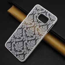 Luxury Slim Flip PC Matte Hard Case Cover Skin For Various Samsung Galaxy Phone