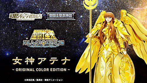 Saint Seiya Myth Cloth Goddess Athena OCE Tamashii Nations 10th Anni Bandai w//t#