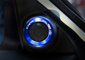 2pcs-blue-Door-horn-decoration-ring-Trim-For-Honda-Civic-10th-Gen-2016-2017
