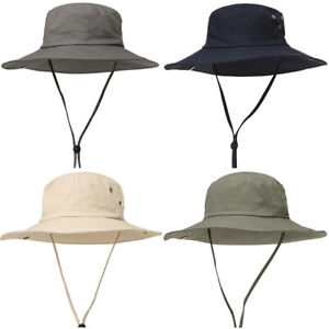 fa7c37e2566 Details about Men's Outdoor Jungle Hats Fishing Fisherman Cap Casual Wide  Brim Bucket Hat