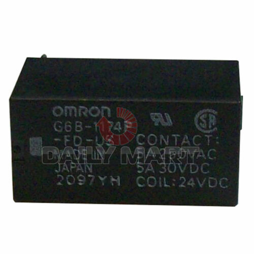 New OMRON Automation G6B-1174P-FD-US Relay E-Mech Power SPST-NO Cur-Rtg 8A 24DC