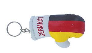 Keychain Mini boxing gloves key chain ring flag key ring cute MACEDONIA