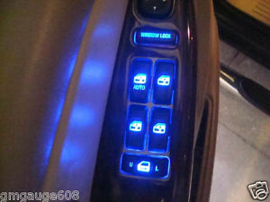 Door And Window Switch Blue Led Upgrade Kit For Silverado