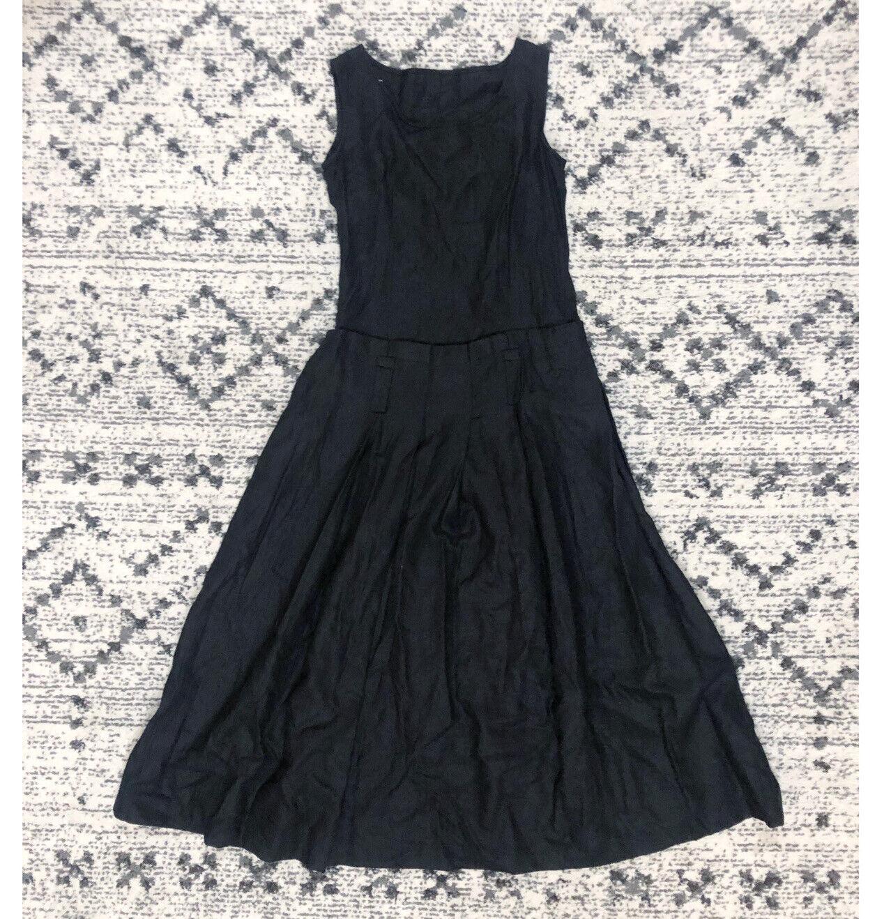 Vintage 90/'s Maxi-Dress in Black by Harold/'s