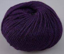 Zarela ARAN ***Super Soft*** 100% Luxurious Baby Alpaca Yarn - Plum Purple