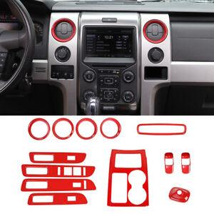 Full set Interior Decor Trim Cover Kit For Ford F150 Raptor 2009-14 Accessories