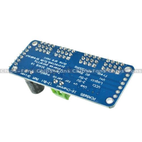 PCA9685 TB6612 I2C Module 16-Channel 12-bit PWM Servo motor Driver For Arduino