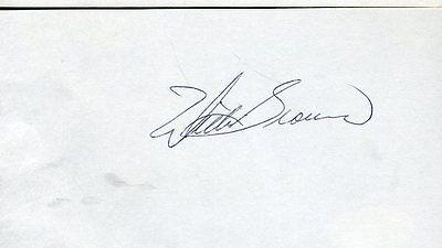 MARION MOTLEY SIGNED JSA CERT STICKER 3x5 INDEX CARD AUTHENTIC AUTOGRAPH
