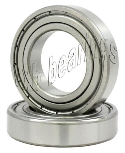 2 Bearings 6203 ZZ 17*40 ABEC-5 mm Metric Ball Bearings