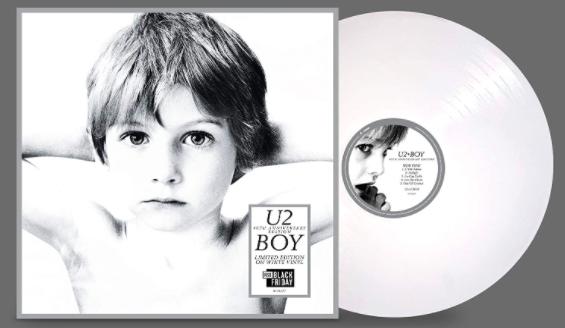 U2 Boy LP Coloured White Vinyl Anniversary Edition New Sealed 2020