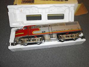 Aristo Craft Santa Fe 22310 Locomotive Used W Original Box No Reserve Auction Ebay