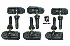 Set Of 6 2014 2018 Dodge Ram Dually Tpms Tire Pressure Sensors 2500 3500 Oem