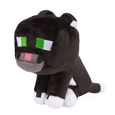 Minecraft Tuxedo Cat Plush Stuffed Toy