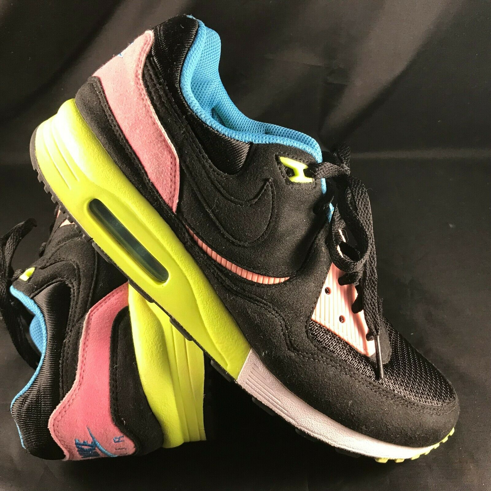 2008 Nike Air Max Light QS Sz. 9 Black Pink Volt Mita Trainer 333623-002 90 1