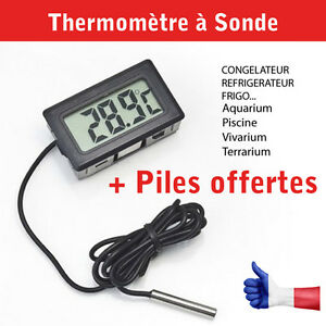 Thermometre encastrable sonde frigo cong lateur for Frigo chambre froide