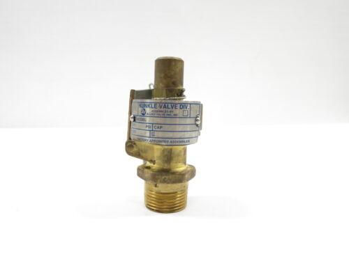 Kunkle Válvula de alivio de seguridad de latón 1-d 104cfm 60psi 3//4in NPT