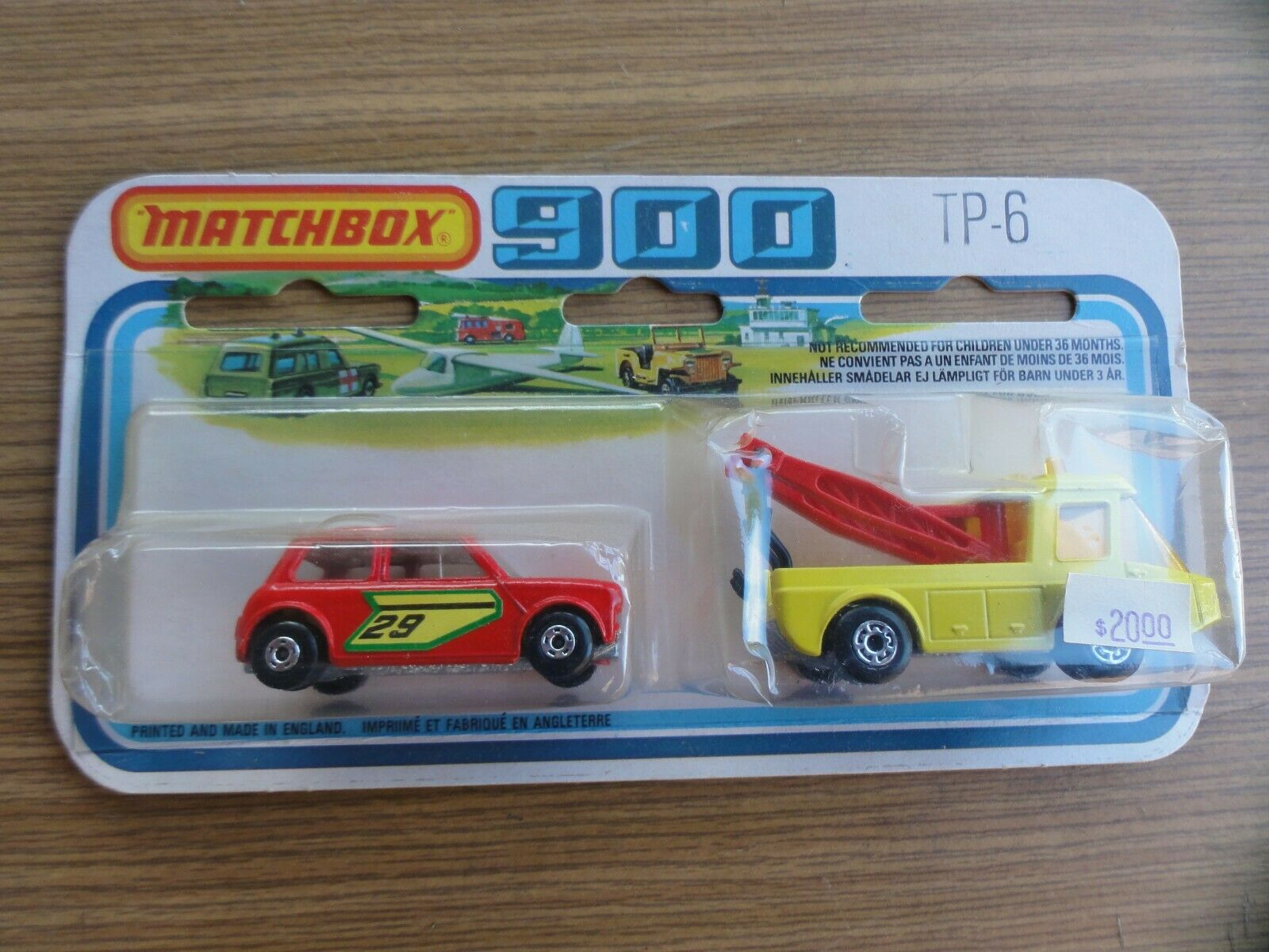 Matchbox 900 TP - 6 Toe Joe Racing mini New - ovp