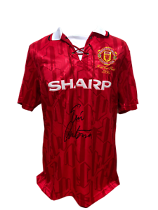 ERIC-CANTONA-SIGNED-1994-HOME-MANCHESTER-UNITED-FOOTBALL-SHIRT-SEE-PROOF-COA