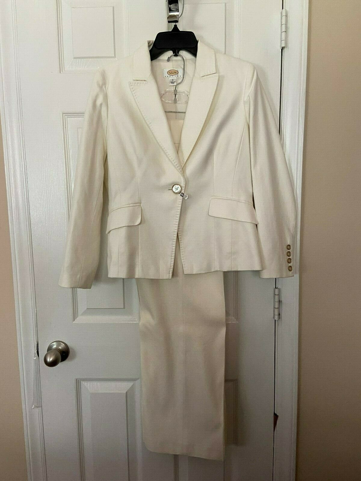 Womans  Talbots Petites  Winter White Mixed Size … - image 1