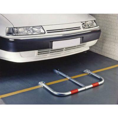 Dissuasore di sosta parcheggio privato auto in acciaio con lucchetto e chiavi