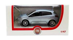 Fiat-Norev-Bravo-en-Plata-Azul-De-5-puertas-y-1-43-Diecast-Modelo-Coche