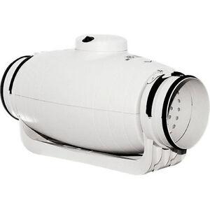 Ultra Quiet Inline Duct Extractor Fan Td Silent Soler