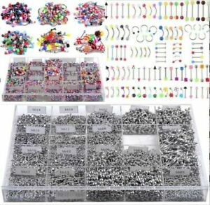 Wholesale-105Pcs-Body-Jewelry-Tongue-Eyebrow-Lip-Belly-Navel-Ring-Piercing-Set