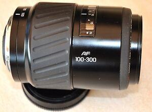 Minolta-Tele-Objektiv-AF-100-300-4-5-5-6-auch-sehr-gut-fuer-Sony-Alpha-geeignet