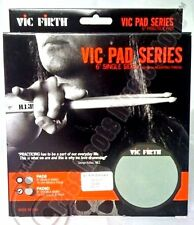 """VIC FIRTH® Double Sided Soft Rubber 6"""" Practice Drum Pad PAD6D"""