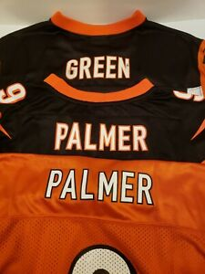 Details about AJ Green Palmer CINCINNATI BENGALS NFL AUTHENTIC Jersey Lot of 3 YOUTH LARGE