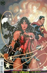 Justice-League-28-YOTV-Terry-amp-Rachel-Dodson-Variant-DC-Comic-1st-Print-2019-NM