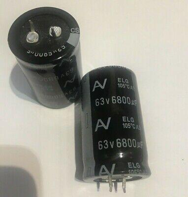 UFW1E682MHD Kondensator elektrolytisch THT 6800uF 25VDC Ø18x35,5mm NICHICON