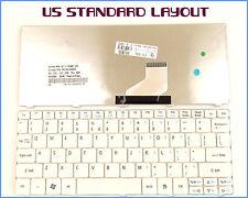 New Laptop US Keyboard for Acer Emachine 350 eM350 NAV51 355 eM355 White