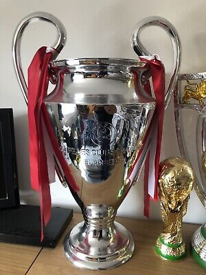 replica champions league trophy and medal ribbons no longer on trophy ebay replica champions league trophy and medal ribbons no longer on trophy ebay