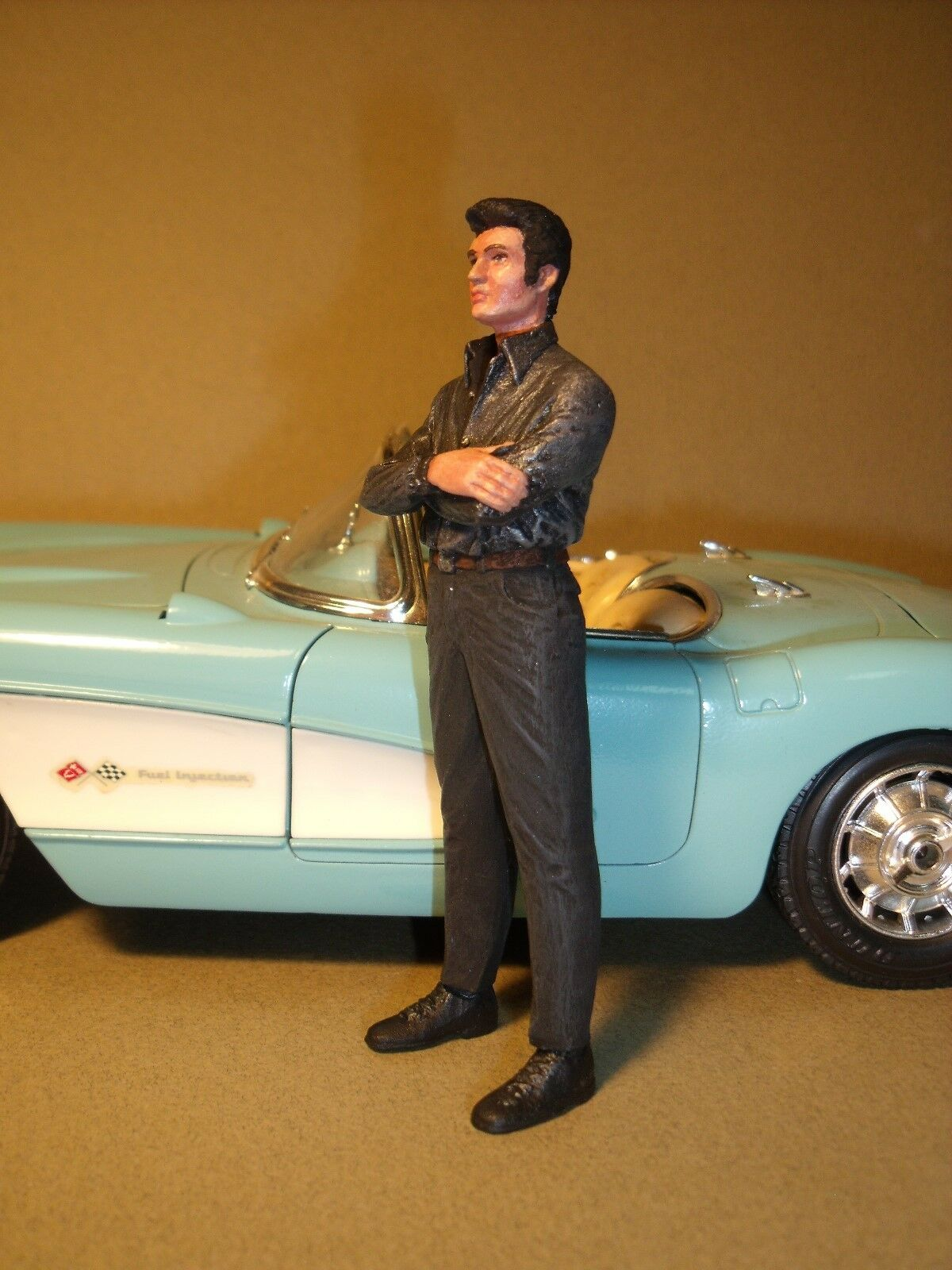 primera reputación de los clientes primero 1 1 1 18  Figura  ELVIS  PRESLEY  PAINTED  BY  VROOM  FOR  MINICHAMPS  MATTEL  ERTL  venta al por mayor barato