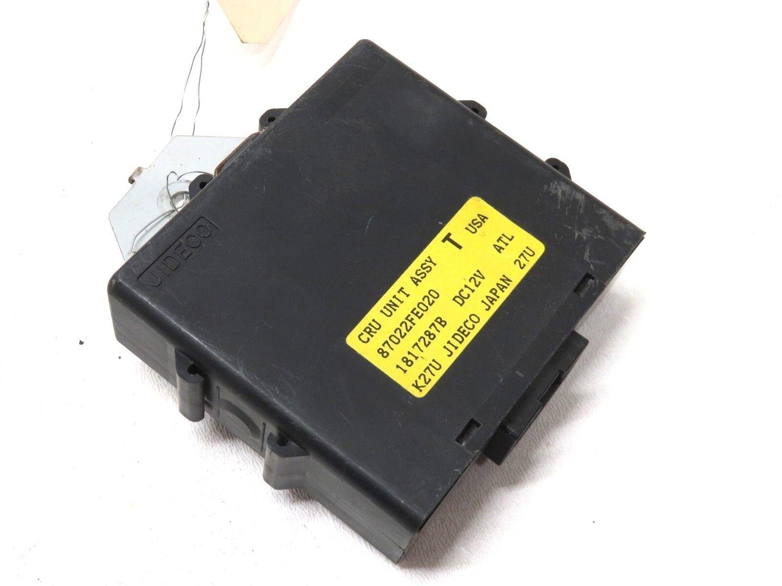 02-05 Subaru Impreza WRX Cruise Control Module Unit 87022FE020 Computer
