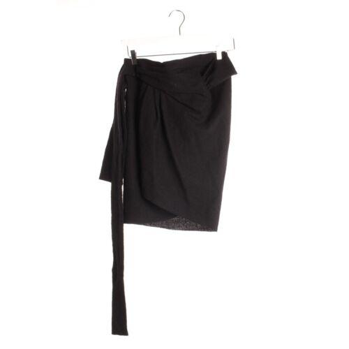 Gr Jupe Minirock Isabel Fr 42 Wickelrock Marant 44 Skirt Damen Schwarz azqR7