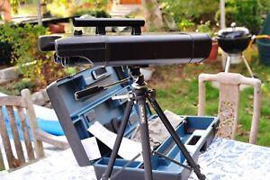 Swarovski 30x75 spektiv doppel teleskop doppel fernrohr mit koffer