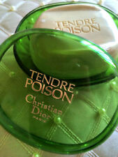 100% AUTHENTIC RARE DIOR TENDRE POISON VINTAGE PERFUMED SOAP SAVON&Luxury DISH