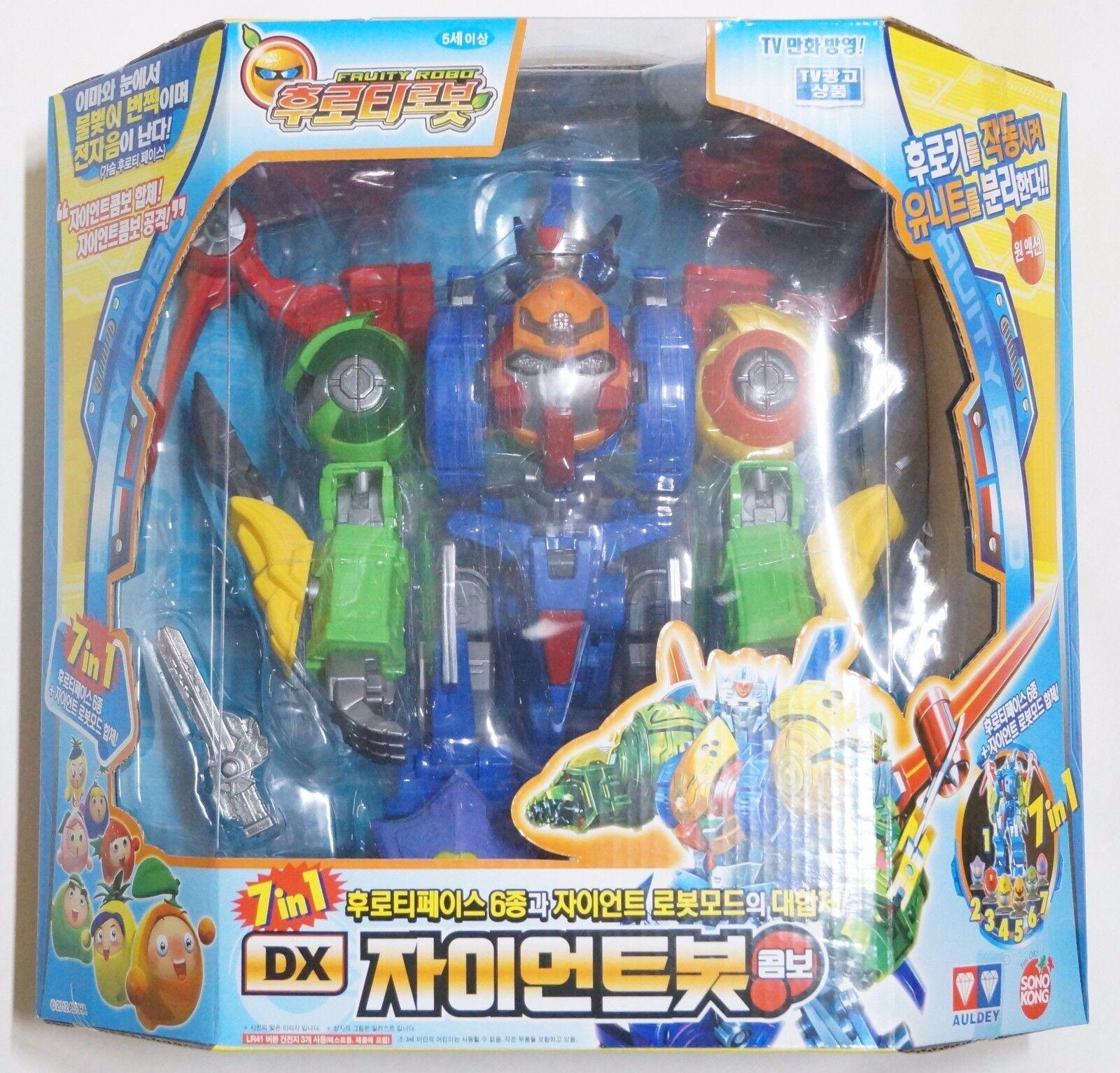 Auldey sonokong fruchtig robo  dx - roboter - 7 in 1 licht & sound wert